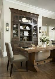 Built In China Cabinet Beautiful Traditional Dining Rooms Buffet