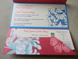Template Boarding Pass Invitation