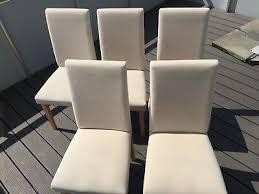 stühle esszimmer wohnzimmer holz stoff hell weiß düsseldorf
