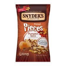 Utz Halloween Pretzel Treats Nutrition by Snyder U0027s Of Hanover Pumpkin Spice Pretzel Pc 10oz Target