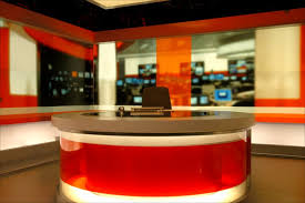 A BBC News Set
