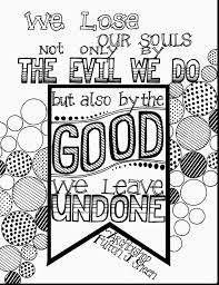 Excellent Printable Quote Coloring Pages With And To Print