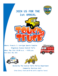 Touch A Truck - City Of Central Falls
