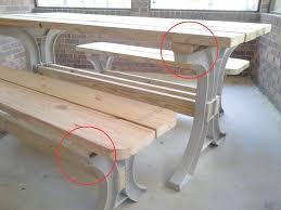 2x4basics picnic table kit assembly variations