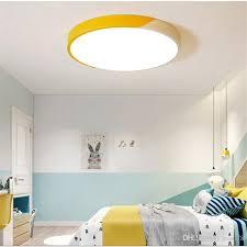 großhandel 2019 neue moderne ultradünne doppelfarb led deckenleuchten eisen quadrat rund deckenleuchten für wohnzimmer schlafzimmer innenbeleuchtung