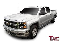Amazon.com: TAC Side Steps For 2001-2018 Chevy Silverado / GMC ... Gm Accsories In Regina Custom Truck Spare Parts Performax Intertional Chevy Silverado Slp Performance Pack Level Gmc Sierra 1500 Online For Chevrolet Ck Questions It Would Be Teresting How Many Gmc Pickup Best Of Used 2015 3500hd Crewcab Elevation And Carbon Editions Bring Topflight Leds Chris6692 1997 Regular Cab Specs Photos 1990 Unique Lifted Front Hood 2013 For Sale 1 Year Warranty Youtube 2012 2500hd 60l 4x2 Subway Inc Buick Luther Brookdale