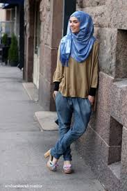 Latest Trends Of Casual Wear Hijab Styles With Jeans 2016 2017 21