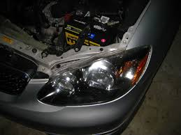 corolla headlight bulb replacement guide 022