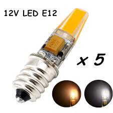 12v e12 led light bulb 2 watt 200lm omnidirectional candelabra