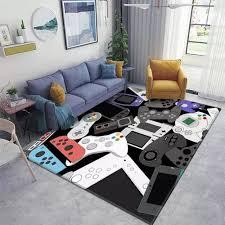 gamer controller teppiche rutschfeste bodenmatte fußmatten home runner teppich teppich für schlafzimmer indoor outdoor kinder spielmatte kindergarten