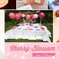 Host A Cherry Blossom Sweet 16 Party In Your Backyard