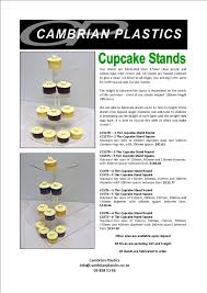 Cupcake Stand Square 4 Tier Stands Flyer