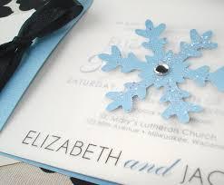 Unique Winter Wedding Invitations