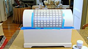 Americana Decor Creme Wax Deep Brown by French Inspired Chest Makeover Our Southern Home