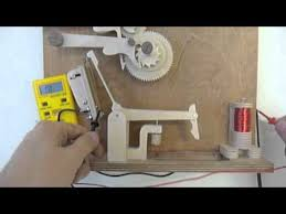 electric wooden gear clock youtube