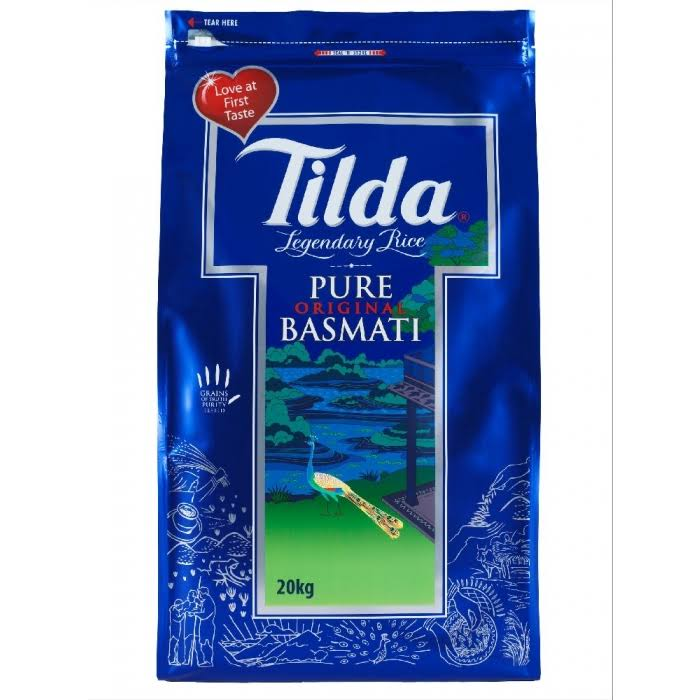 Tilda Pure Original Basmati Rice - 20kg
