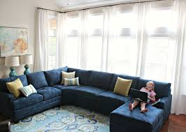 Living Room Makeovers 2016 by Carolina On My Mind Living Room Makeover Part 5 Navy Sectional