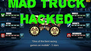 How To Hack Mad Truck With 100% Works - YouTube