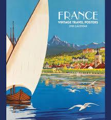 France Vintage Travel Posters Calendar 2018