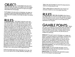 Miami Vice Board Game Rules Mvrules1 Mvrules2