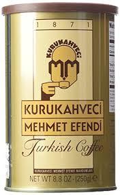 Mehmet Efendi Turkish Coffee 88 Oz Can
