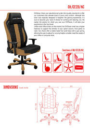 Tall Office Chairs Australia by Amazon Com Dxracer Classic Series Doh Ce120 Nc Big And Tall Chair
