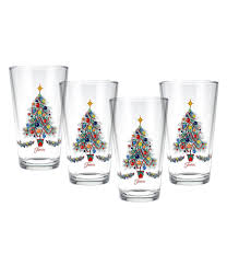 Spode Christmas Tree Highball Glasses by Holiday U0026 Christmas Drinkware Dillards