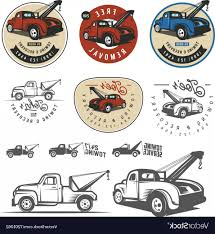 100 Truck Emblems Vintage Car Tow And Logos Vector SHOPATCLOTH