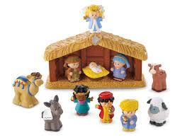 Dora The Explorer Kitchen Set Walmart by Fisher Price Little People Nativity Set A Little People
