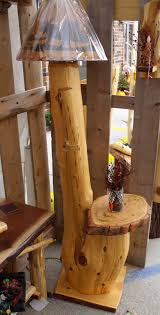 Make Cypress Knee Lamps by Log And Rustic Lamps Floor And Table Lamps