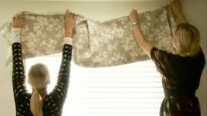 Country Swag Curtains For Living Room by Window Valance Design Ideas Hgtv