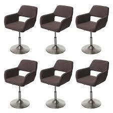 chairs fuß gebürstet esszimmerstuhl hwc a50 iii retro stoff