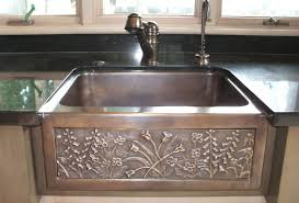Retrofit Copper Apron Sink by Bronze Kitchen Sinks Insurserviceonline Com