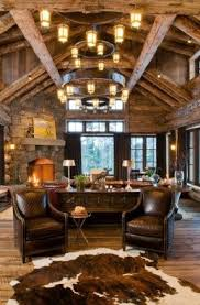 Pearson Design Group Rustic Living Room