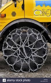100 Truck Tire Chains Snow Chains On Truck Tires Osseja LanguedocRoussillon Pyrenees