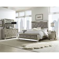 cool silver bedroom furniture sets and hefner platinum 5 pc king