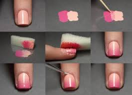 Pink Ombre Nails - How To. | Polished | Pinterest | Pink Ombre ... Best 25 Triangle Nails Ideas On Pinterest Nail Art Diy Cute Easy Christmas Nail Polish Designs For Beginners 15 Using Tape With Art Stickersusing A Freezer Bag Youtube Elegant Tips And Tricks Design Gallery Green Designs 4 Grey Nails Black White 3 Ways To Make Flower Wikihow For Kids Ideas Pictures Of Short Nails At 2017 21 Easter 22 Super And 2018 Pretty