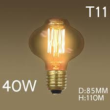 retro 40w 220v industrial incandescent bulbs light yellow