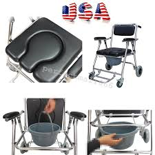 Handicap Toilet Chair With Wheels by Chair With Toilet Amish Kids Pine Wood Potty Chair Shower Commode