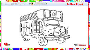 100 Truck Drawing How To Draw Indian Truck LearnByArt YouTube