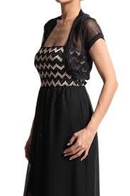 themogan sheer mesh short sleeve bolero shrug dress layering vest