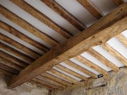 Ceiling Joist Spacing For Drywall by Exposed Beams And Joists Rockrosewine