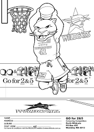 Best Photos Of UK Wildcats Basketball Coloring Pages