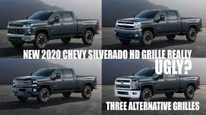 100 Grills For Trucks Ugly New 2020 Chevy Silverado HD Grille Design Discussion With Alternatives