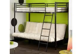 lit mezzanine 90 avec clic clac noir l sytème mezzo design sur
