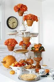 Casual Kitchen Table Centerpiece Ideas by 40 Thanksgiving Table Settings Thanksgiving Tablescapes