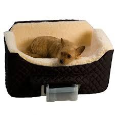 amazon com snoozer lookout ii pet car seat large ii black