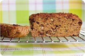 Rustic Chocolate Chip Banana Oat Cake