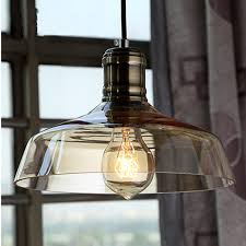 vintage american country industrial chandelier clear and