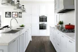 Flooring Kitchen Ideas Large Enclosed Inspiration For A Galley Dark Wood Floor